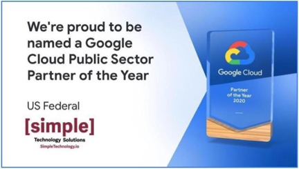 STS names Google Cloud Public Sector Partner of the Year 2020